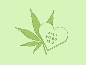 Weed belong together: 5 Valentine's day Inspired Pieces for your Sweetheart