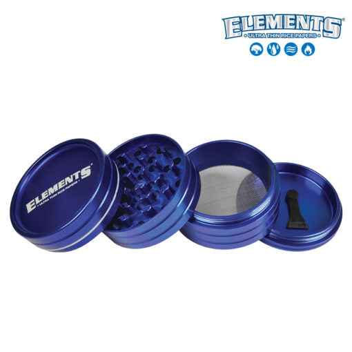 Elements 4PC Aluminum Grinder