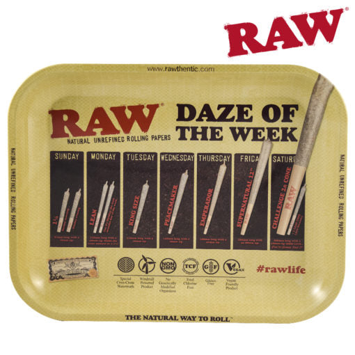 Raw Daz of the Week Tray