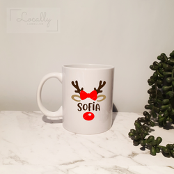 Named reindeer | Mug