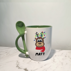 Reindeer lights | Mug