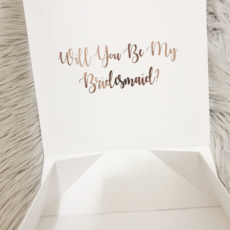 Luxe Magnetic Personalised Giftbox | Giftbox/bag