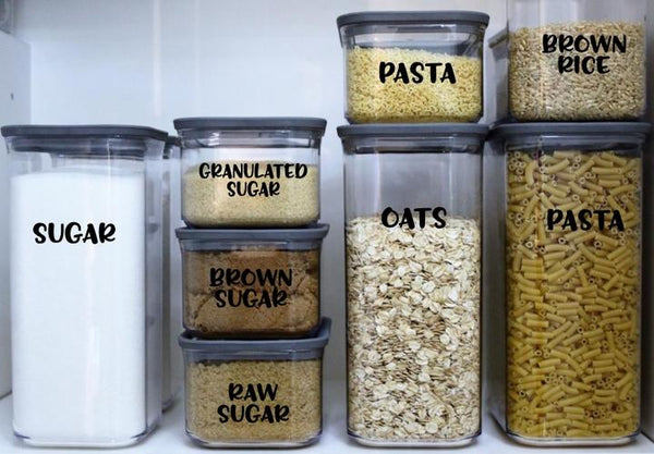 Pantry Custom Bundle | Organisation Labels