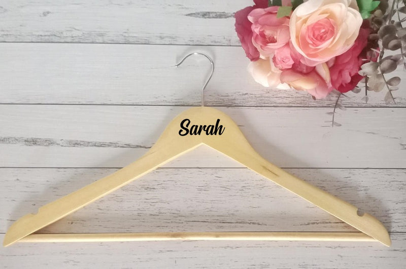 Name Option #4 | Wooden Hanger