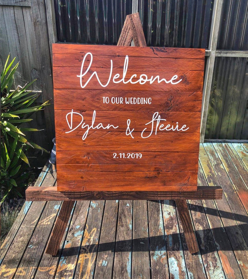 Welcome #2 | Wedding Signage