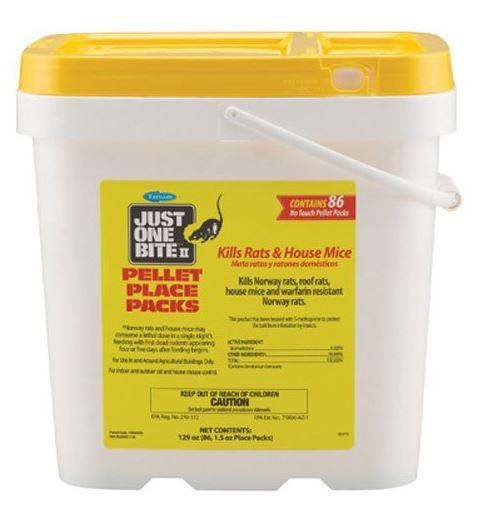 Farnam - Just One Bite II Pellet Contains 88/86 x 0.75/1.5 oz place packs