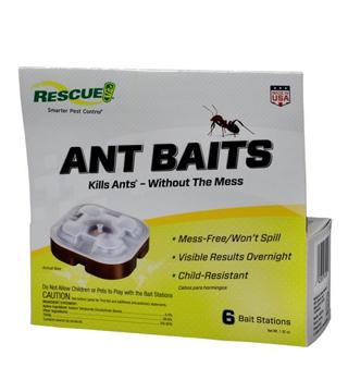 Rescue - Ant Bait Trap - 6 Pack