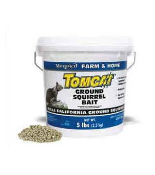 Tomcat - Ground Squirrel Bait- 5 lb.