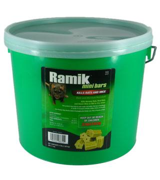 Ramik - Mini Bars - 4 lb (64 x 1 oz) Pail