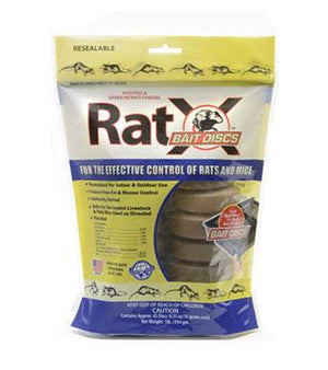 RatX- Bait Disc 45 ct - 1 lb
