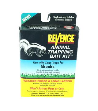Revenge - Trap Bait Kit for Skunks