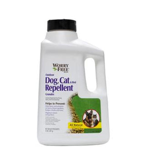 Worry Free - Dog, Cat and Bird Repellant Granules - 2 lb.