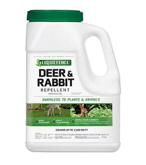 Liquid Fence - Deer and Rabbit Repellent - Granules - 5lb.