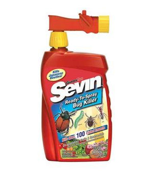 GardenTech- Sevin Insect Killer RTS Conc. - Hose-End qt. w/ Zeta-Cypermethrin