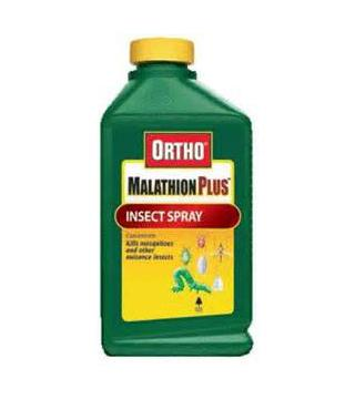 Ortho - Malathion 50% - Insect Spray Concentrate - 16 oz