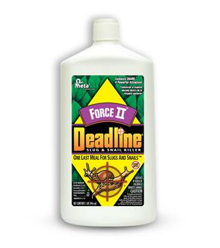 Deadline - Force II Slug and Snail Killer - Liquid - 32 oz.