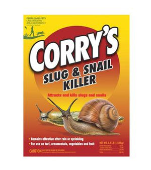 Corry's - Slug and Snail Killer - Pet Safe Bait Pellets - 3.5 lb.