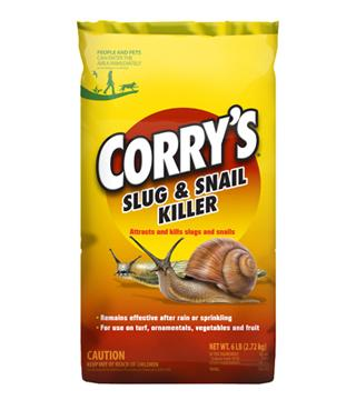 Corry's - Slug and Snail Killer - Pet Safe Bait Pellets - 6 lb.