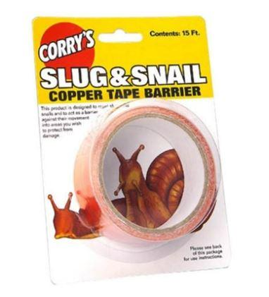 Lilly Miller - Copper Snail Tape - 15 ft.