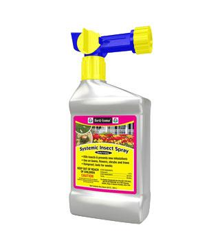 Fertilome - Systemic Insecticide Spray - RTS Hose End Conc. - qt.