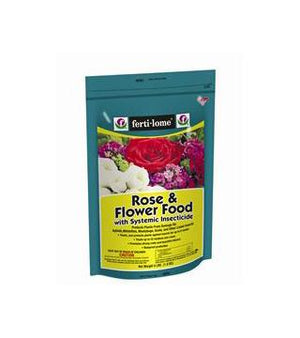 Fertilome - Rose and Flower Food with Systemic Insecticide - 14-12-11 - 4 lb.