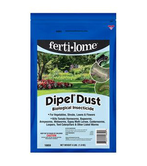 Fertilome - Dipel Dust Biological Insecticide - 4 lb.