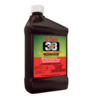 Hi-Yield - 38 Plus Turf, Termite and Orn. Insect Control - qt.