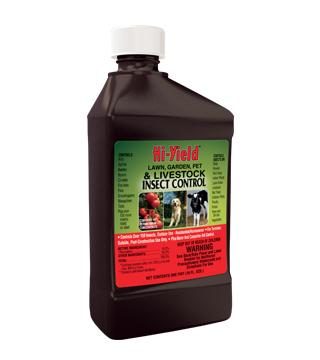 Hi-Yield - Lawn, Garden, Pet and Livestock Insect Control - pt
