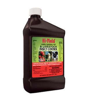 Hi-Yield - Lawn, Garden, Pet and Livestock Insect Control - qt.