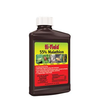 Hi-Yield - 55% Malathion - Spray Concentrate - 8 oz.