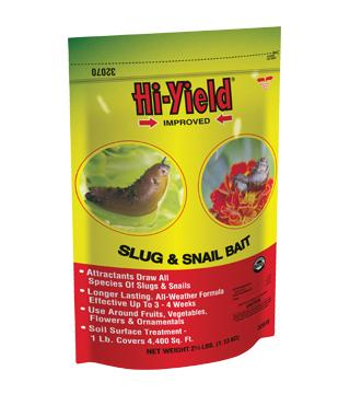Hi-Yield - Improved Slug and Snail Bait - 2.5 lb.