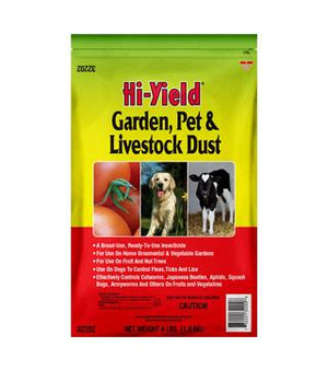 Hi-Yield - Garden, Pet and Livestock Dust - 4 lb.