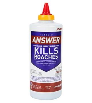 JT Eaton - Answer Boric Acid Insecticide Dust #360 - 16 oz