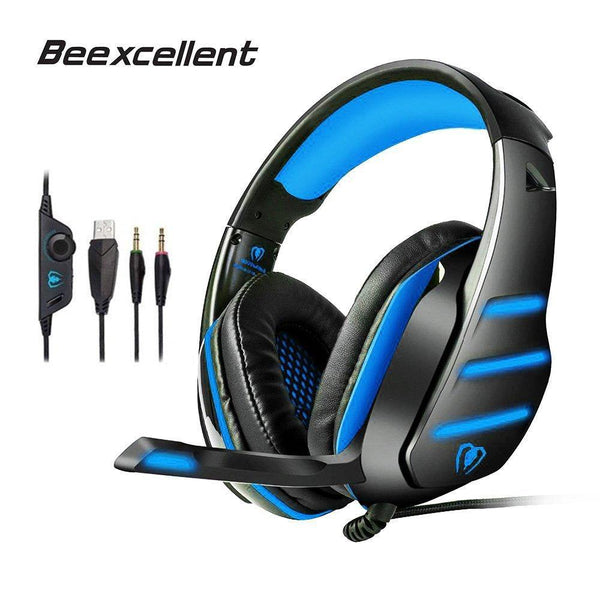 Beexcellent GM-3 Gaming Headset for PS4, new Xbox One, PC , laptop, tablet, iPad, computer, smart phone - WooTech Online Shopping