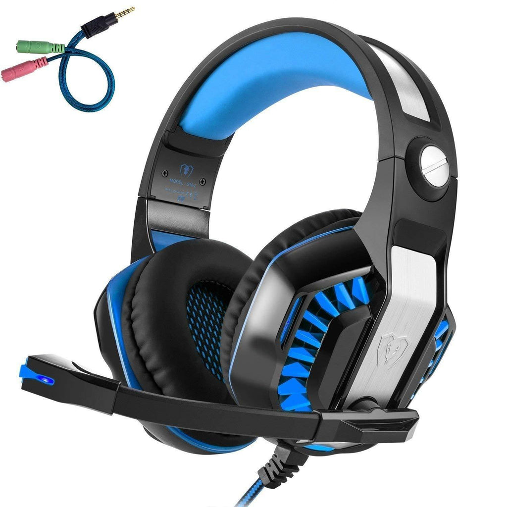 Gaming Headset with Mic GM-2, for PS4 Xbox 1, Laptop, PC, Tablet, Smart phones - WooTech Online Shopping