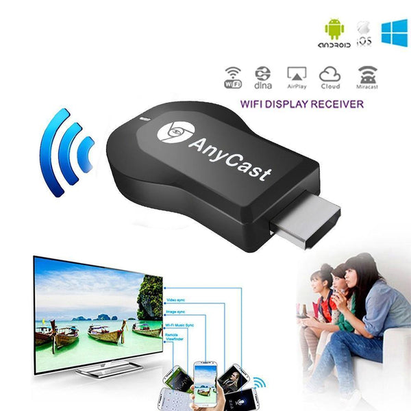 Anycast M4 Plus HDMI TV Stick WiFi Display Dongle Receiver for iOS Android