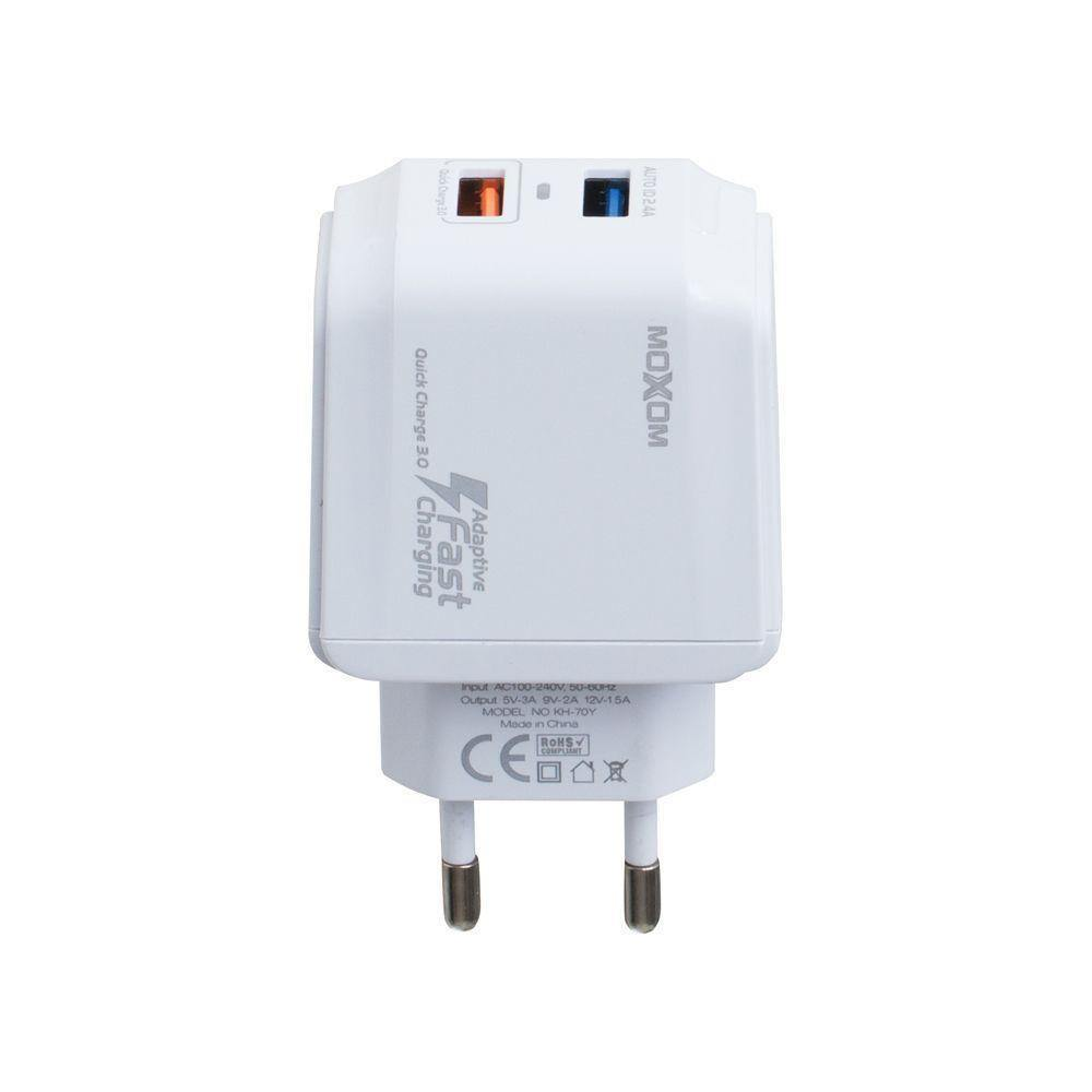 Moxom fast home charger kh-70y white - WooTech Online Shopping
