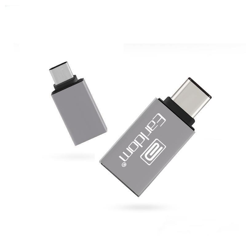 EARLDOM ET-OT06 USB 3.1 TYPE-C TO USB 3.0 OTG CONNECTION KIT ADAPTER - WooTech Online Shopping