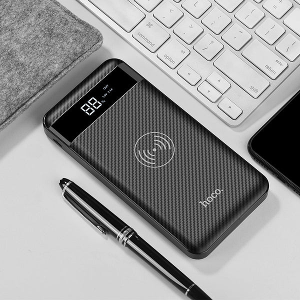 Wireless slim Power bank 10000 mAh wireless charging - Hoco J11