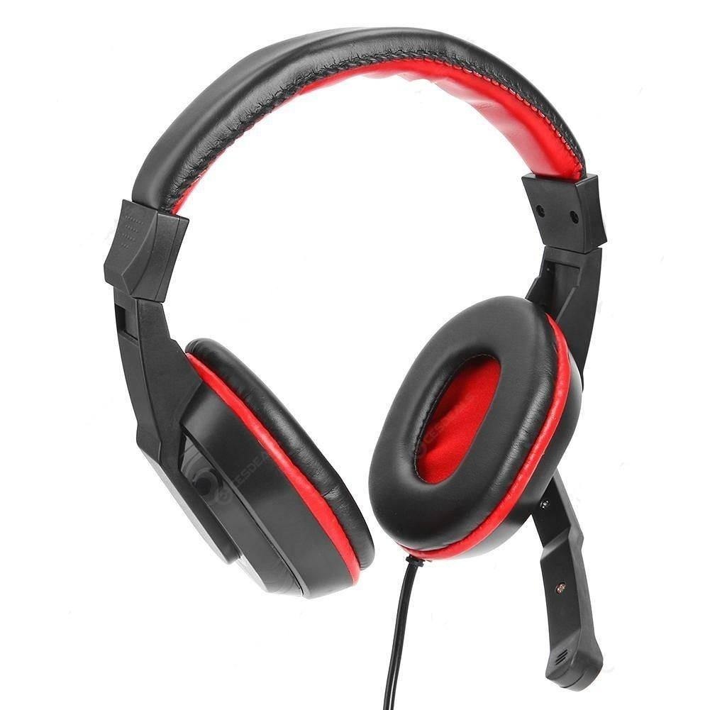 A3 Wired Over-ear HiFi Stereo Game Headphones with Mic for Computer Laptop