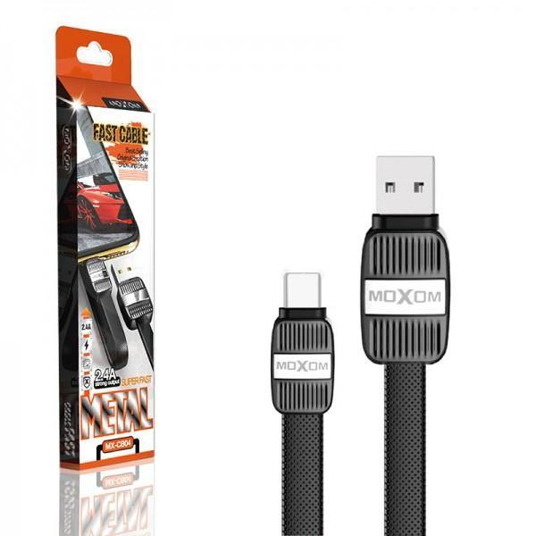 Moxom fast metal cable mx-cb04 black - WooTech Online Shopping