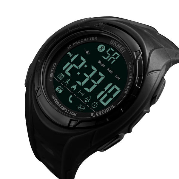 Skmei 1316 Waterproof  Alarm Bluetooth Sports Watch - WooTech Online Shopping