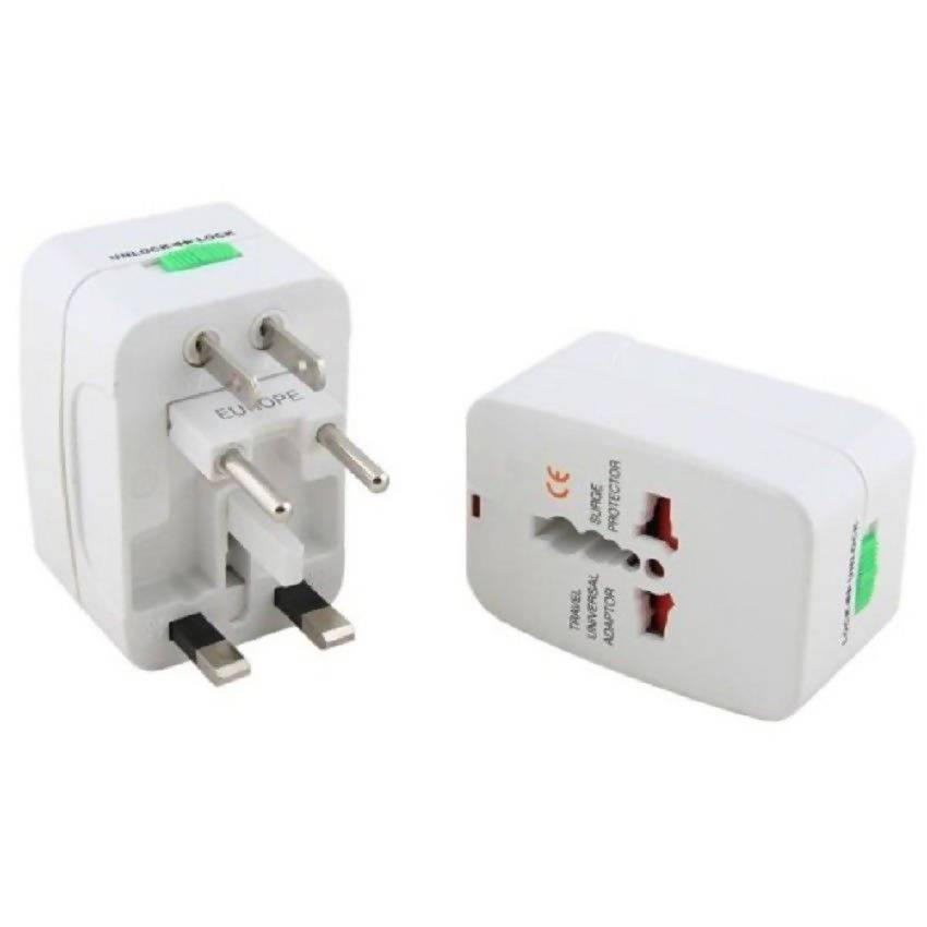 Andowl universal travel adaptor with usb and 2A - q-a178