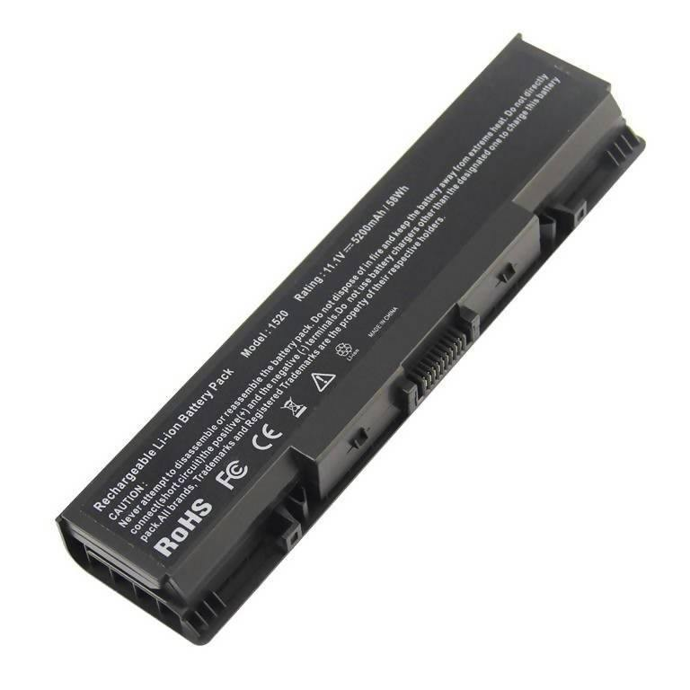 Replacement laptop battery for Dell - 1520
