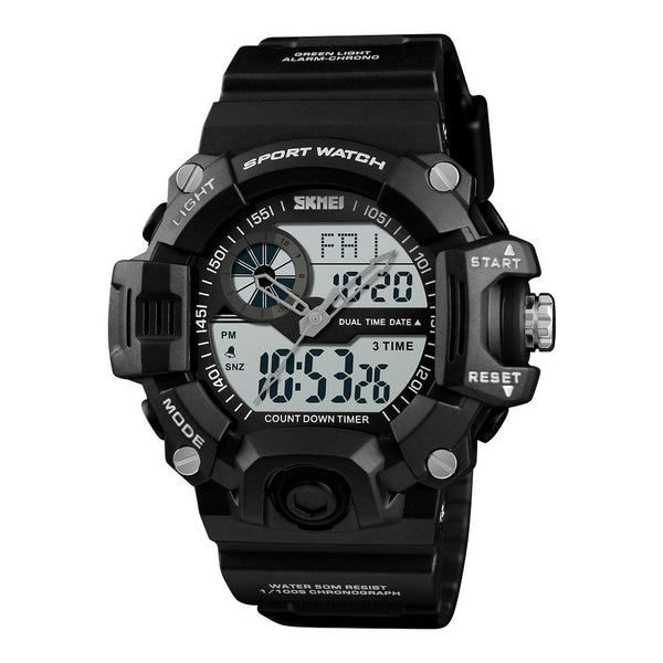 SKMEI 1331 Waterproof  Alarm Bluetooth Sports Watch - WooTech Online Shopping