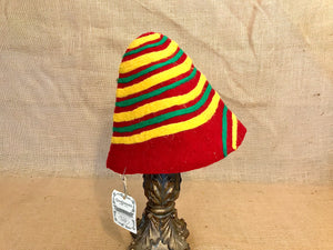 """Rasta Suess"" Wool Felt Gnome Hat"