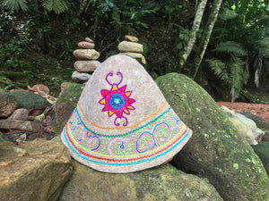 """Interdimensional Garden"" Limited Edition Shipibo Gnome Hat"