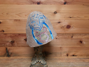 """Seer in the Trees"" Limited Edition Shipibo Gnome Hat"