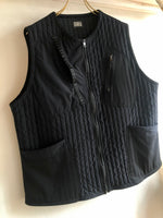 SUPER NYLON STRETCH ZIP UP VEST