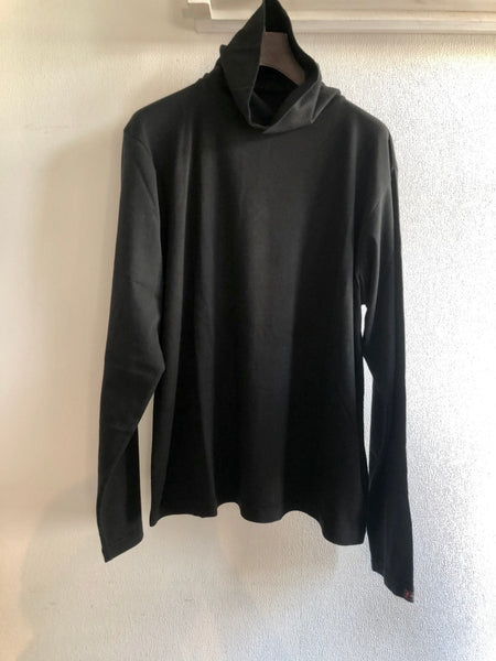 BLACK C/S TURTLENECK